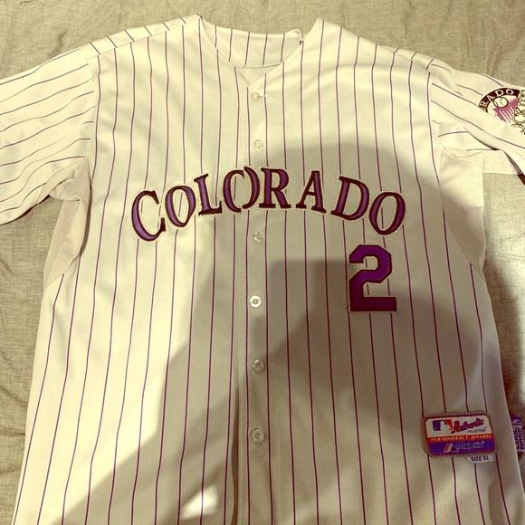 new styles b2e0d 28a7f Troy Tulowitzki Colorado Rockies Jersey